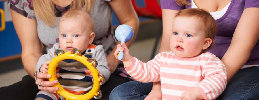 Baby and Me Music Classes happening at Messiah - Wednesdays