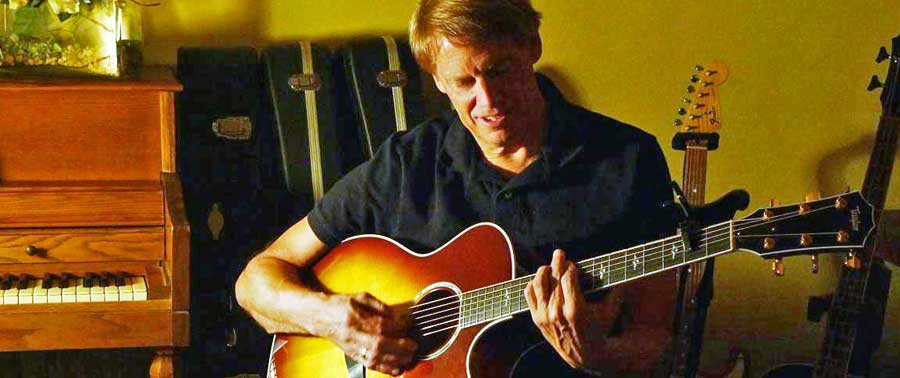 Mark Anzelon guest musician at Hazel Dell campus Oct. 17-18 weekend
