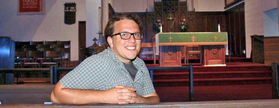 Former Intern Joe Installed as Associate Pastor at St. John Lutheran Church, Dickinson, ND