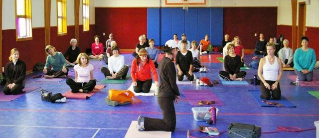 Karri Bukant leads new Monday evening Yoga Sessions