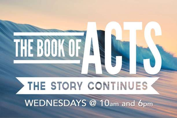 New Adult Bible Study on the Book of Acts. Wednesdays with Pr. Peter and Intern Pr. Ryan. Classes at 10am and 6pm