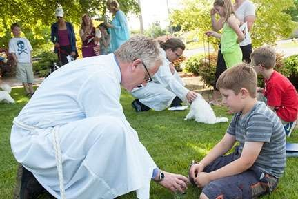Blessing of the Pets on St. Francis of Assisi Day, October 4 - 4:30-5:15p