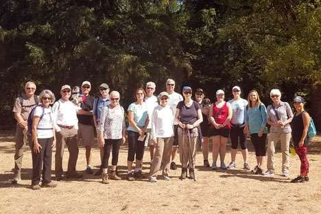 Hiking Group will trek this Sunday, November 12