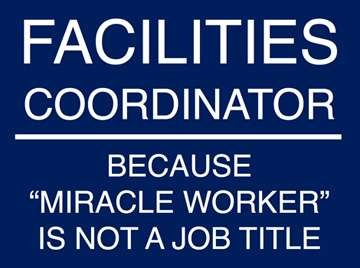 Facilities Coordinator Hiring Process Open
